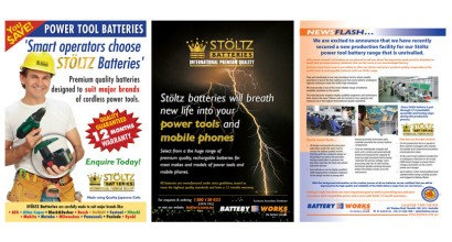 Battery Works Specialist Magazine Advertisements