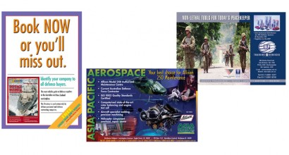 Defense Industry Magazine Advertising
