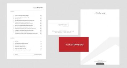 Hotel Bravo Stationery